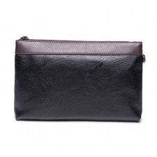MEN High Quality Leather Purse Wallet Pouch Casual Clutch Bag Multipurpose 129