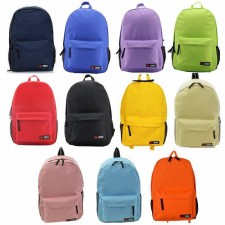 Women Casual Oxford Nylon Colourful School Canvas Travel Backpack Bag