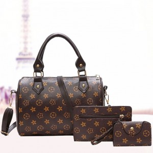 3 IN 1 Handbag Set Sling Bag Purse