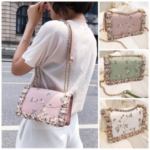 Ladies Sling Bag Flower Handbag Shoulder Bag Women