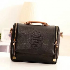 Women Vintage Barrel Sling Bags Shoulder Handbag Bag Tote Beg