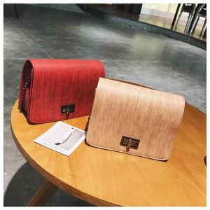 Wood Sling Metal Sling Bag Shoulder Women Handbag Beg Cute