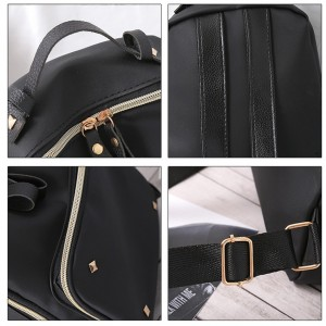 Four Square Backpack Shoulder Bags Travel Bag Casual Beg Cute