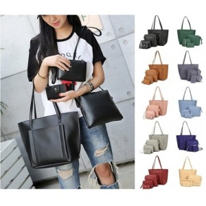 4 in 1 Handbag Women Sling Bag Beg Tangan
