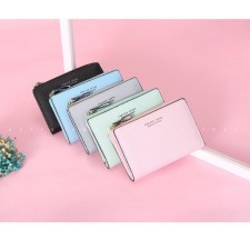 Korean Forever Young Women Small PU Wallet