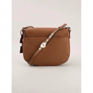 Michael Kors Bag MK Locker Saffiano Effect Sling Handbag
