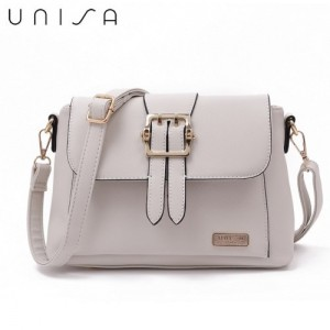 UNISA Saffiano Pin Buckle Sling Bag