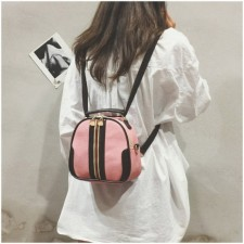 Round Bags Sling Bag Tote Handbag with Special Zip Tag