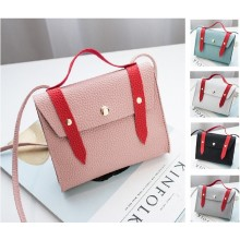 2 Color Arrow Sling Bag Shoulder Handbag