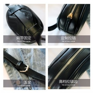 Korean Style Trendy PU 3 Way Use Leather Casual Belt Pouch