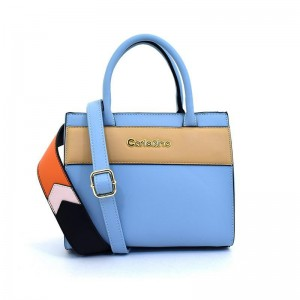 Carlo Rino Top-Handle Bag Blue