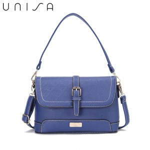 UNISA Saffiano 2-Way Usage Sling Bag