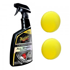 Meguiar's Ultimate All Wheel Cleaner Foam Applicator Pads COMBO