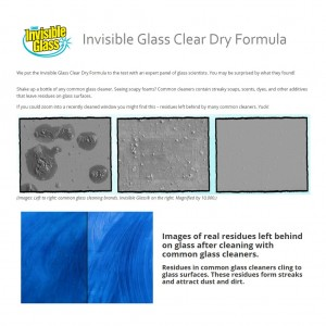 Stoner Invisible Glass Clean & Repel Glass Cleaner with Rain Repellent COMBO