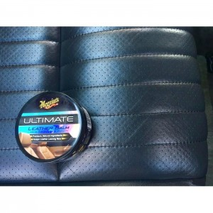 Meguiar's Ultimate Leather Balm + Foam Applicator + PoshCare Wax Off Towel COMBO
