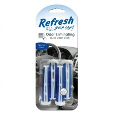 REFRESH YOUR CAR - NEW CAR SCENT VENT STICKS