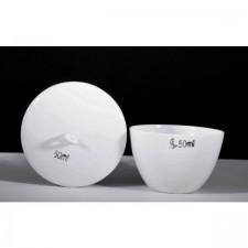 2PCS Porcelain Crucible Low Form Low Wall (15ml - 50ml)
