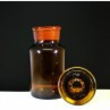 Glass Reagent Bottle (30ml - 1000ml) Amber Wide Mouth