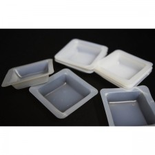 250 PCS Weighing Dish Boat Square Disposable Plastic Weighing Boat