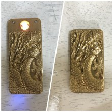 Dragon Design Electronic Cigarette Lighter USB Rechargeable