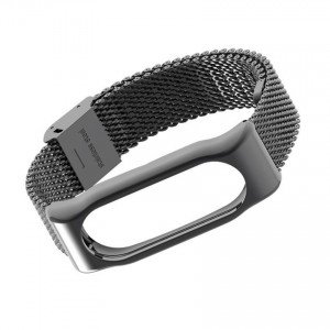 Replacement Stainless Steel Strap for Xiaomi Miband 2