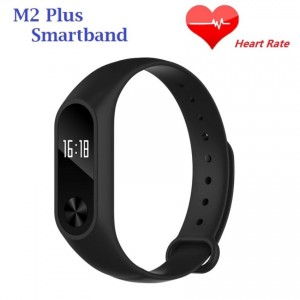 M2 Plus Heart Rate Monitor OLED Activity Tracker Bluetooth SmartBand
