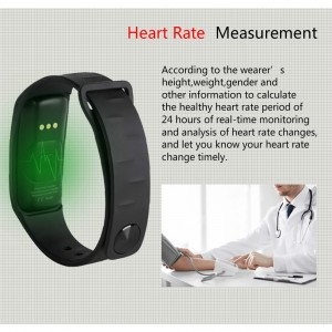 M8 Blood Pressure Heart Rate Monitor Bluetooth SmartWatch