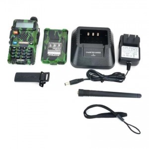 "BAOFENG UV-5R 1.5"" LCD 5W Dual Band 128-CH Walkie Talkie Camouflage"