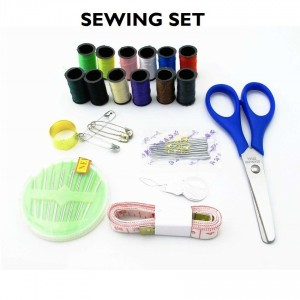 Mini Sewing Machine with Double Threads and Two Speed Control (Purple)