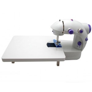 Mini Sewing Machine With Expansion Board (Purple)