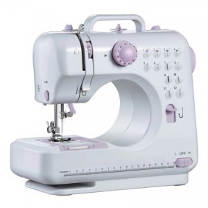 Portable Sewing Machine 505 Pro 505A Upgraded 12 Sewing Options (Purple)