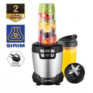 Aicook WBL003 AutoIQ Nutrien Extractor 1200W 24000RPM High Speed Professional Blender with LED Smart One Touch Button