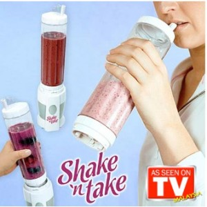 Shake N' Take Blender 2 Bottles (2 Units)