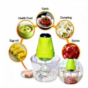 Powerful Multipurpose Electric Meat Grinder Mincer Chopper 2L