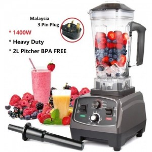 US Professional 1400W Heavy Duty Juicer Commercial Blender 2L BPA