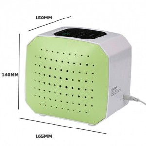 Tolegea LED Display Ionic Air Purifier Sanitizer Formaldehyde Removing