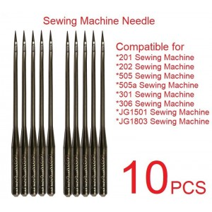 Sewing Machine Needles Needle (10 PCS) Compatible For 201 202 505 505a Sewing Machine