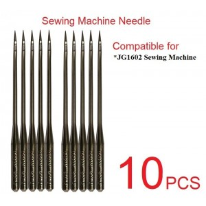 Sewing Machine Needles Needle (10 PCS) Compatible For JG1602 Sewing Machine