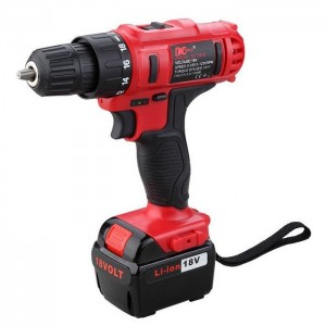 DCTOOLS D017 18V Rechargeable Electric Power Tool Drill
