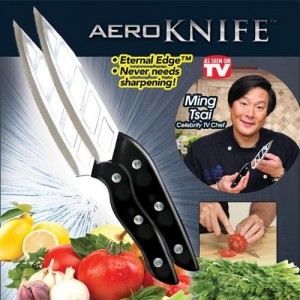 Aero Knife - Cleans Cuts Without Food Sticking Everytime