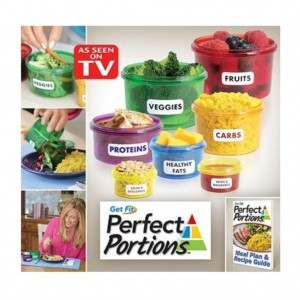 Get Fit Perfect Portions Containers Set 7 Pcs