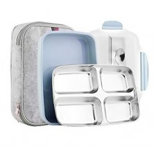 304 Stainless Steel Lunch Boxes With Compartments Microwave Bento Lunch Box