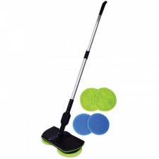 SuperMaid Rechargeable Wireless Cordless Rotary Spin Electric Floor Polish Mop