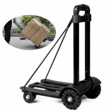 Multifunctional Fordable Trolley Shopping Cart Travel Luggage Carrier Trolley