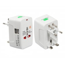 All in One Universal Travel USB Charger Adapter World Travel Adaptor