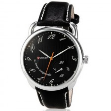 CURREN 8147 Mens Watches Male High Quality Genuine Leather
