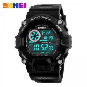 SKMEI 1019 Men's Military Fashion LED Digital Sports Watch
