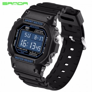 SANDA 329 Classic C Style Waterproof Outdoor Watch