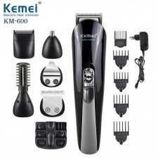 Kemei Km600 11 In 1 Rechargeable Wireless Hair Trimmer Shaver Pro Saloon Quality