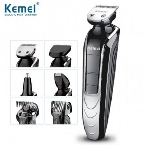 Kemei Rechargeable Electric Men Groomer Trimmer Set (5 In 1) Km1832
